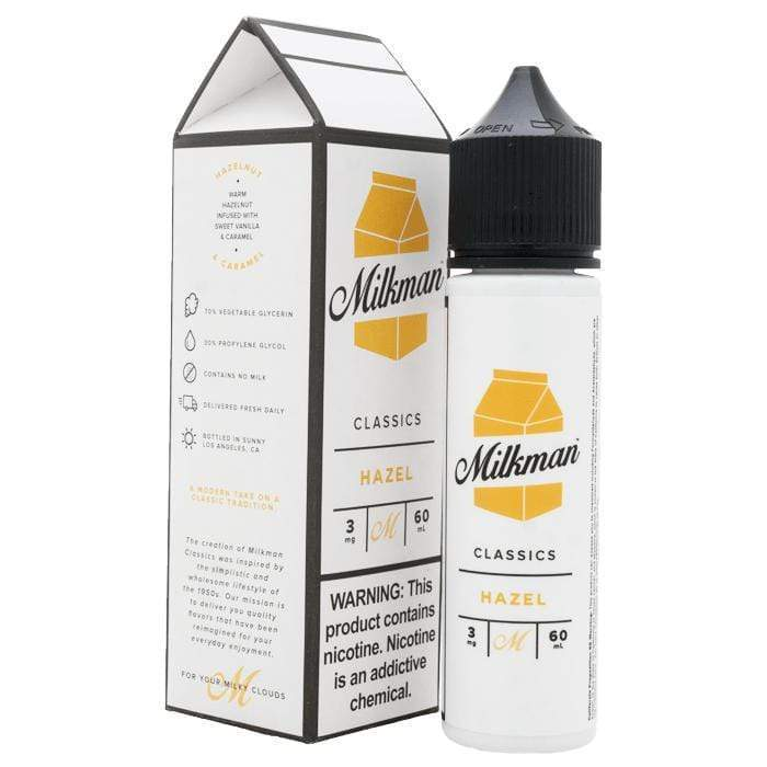 The Milkman Hazel 50ml Shortfill E-Liquid