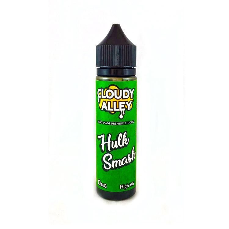 Cloudy Alley Hulk Smash 50ml Shortfill E-Liquid