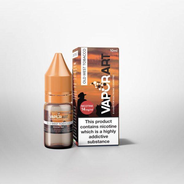 VaporArt Old West Tobacco 10ml E-Liquid