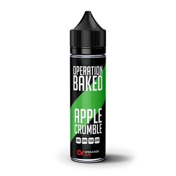 Operation Baked Apple Crumble 50ml Shortfill E-Liquid