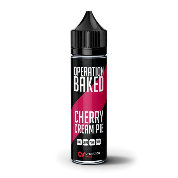 Operation Baked Cherry Cream Pie 50ml Shortfill E-liquid