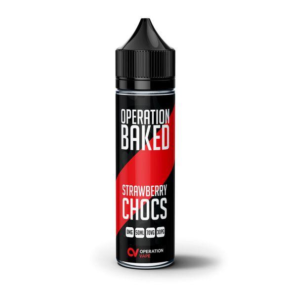 Operation Baked Strawberry Chocs 50ml Shortfill E-Liquid