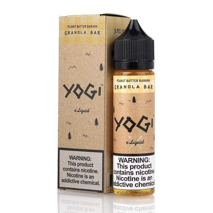 Yogi Peanut Butter Banana Granola Bar 50ml Shortfill E-Liquid