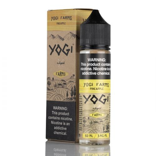 Yogi Farms Pineapple 50ml Shortfill E-Liquid