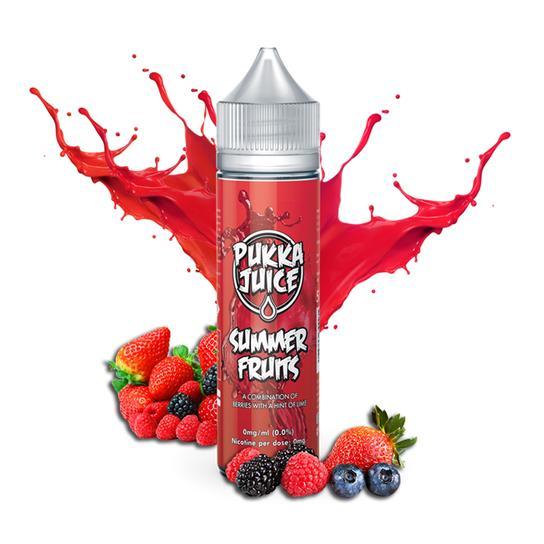 Pukka Juice Summer Fruits 50ml Shortfill E-Liquid