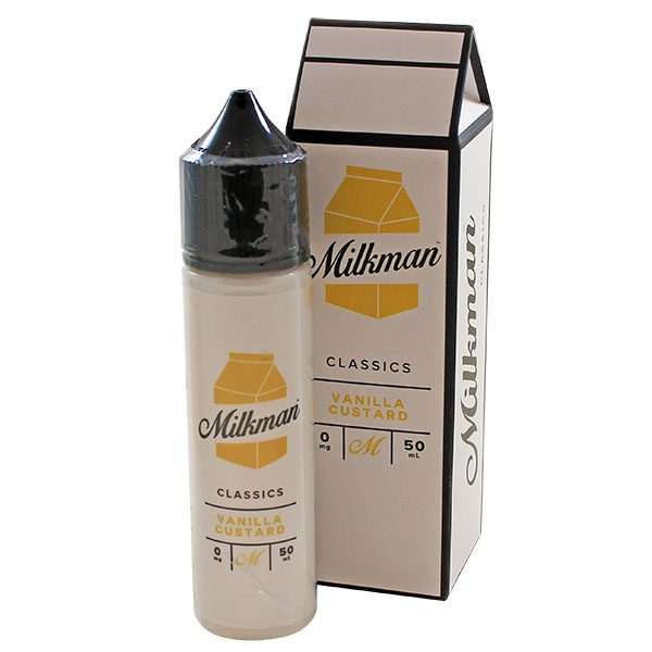 The Milkman Vanilla Custard 50ml Shortfill E-Liquid