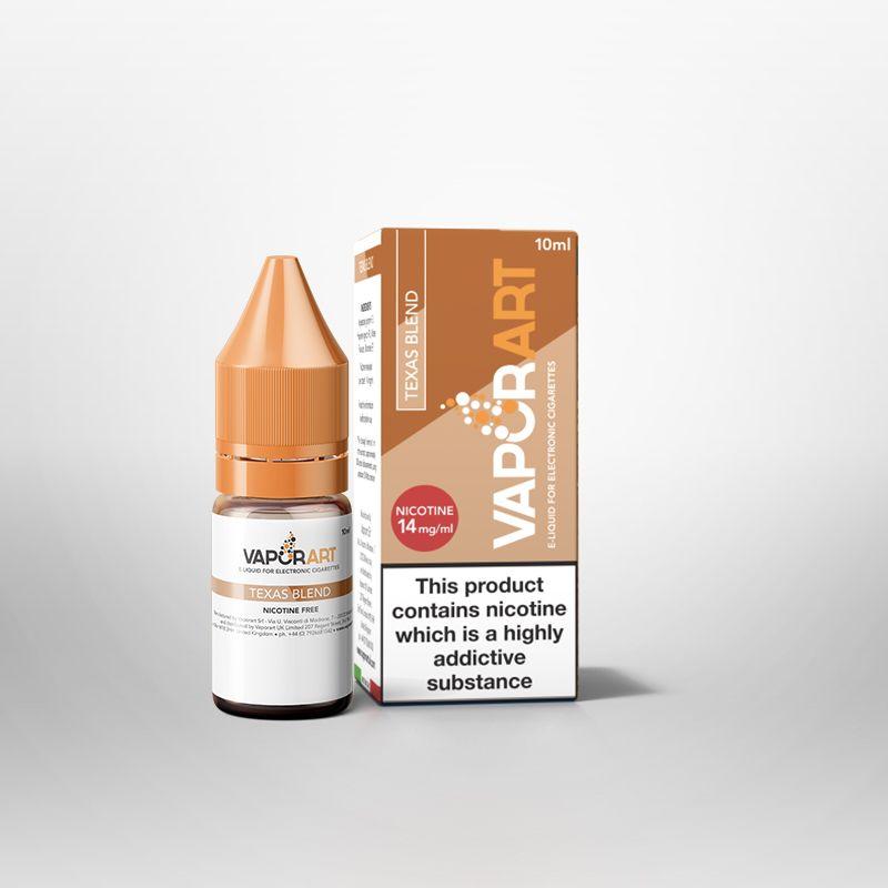 VaporArt Texas Blend Tobacco 10ml E-Liquid
