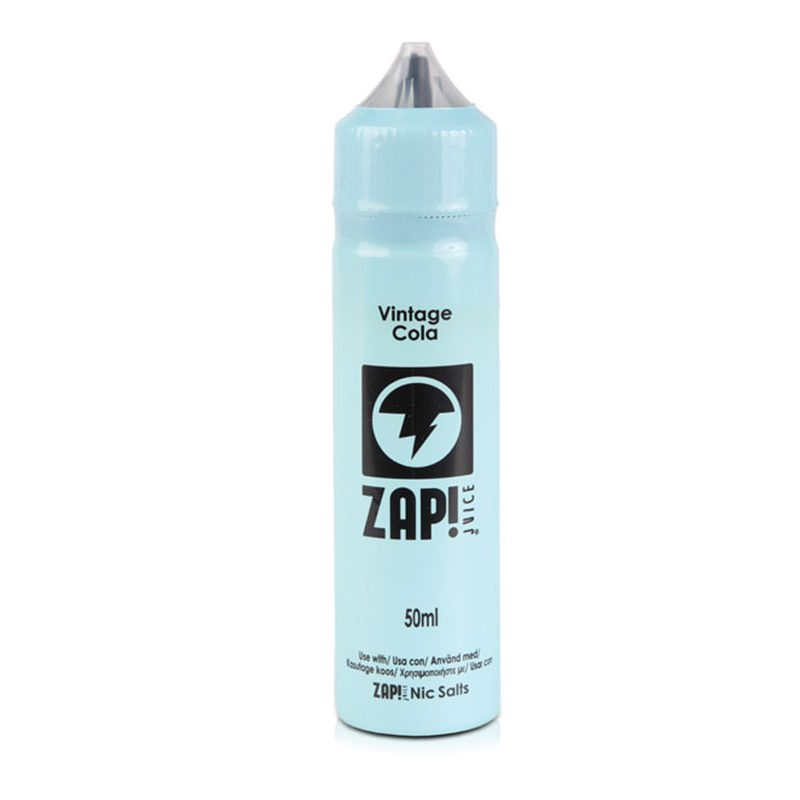 ZAP! Vintage Cola 50ml Shortfill E-Liquid