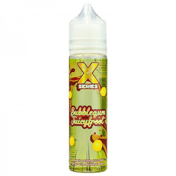 X Series Bubblegum Juicyfroot 50ml Shortfill E-Liquid