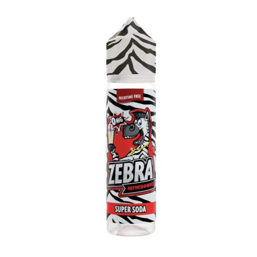 Zebra Refreshmentz Super Soda 50ml Shortfill E-Liquid