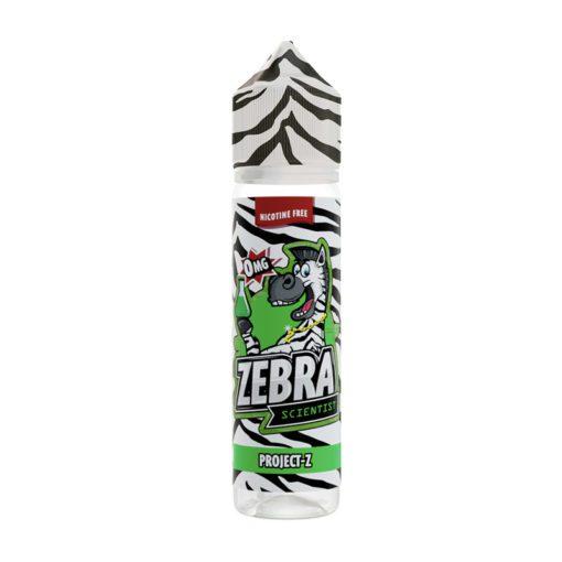 Zebra Scientist Project Z 50ml Shortfill E-liquid