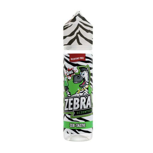 Zebra Scientist Zeb Tastic 50ml Shortfill E-Liquid