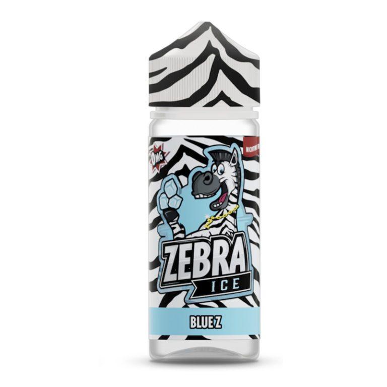 Zebra ICE Blue Z 50ml Shortfill E-Liquid