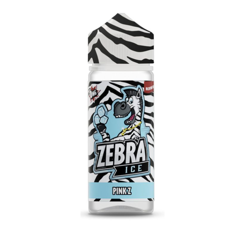 Zebra ICE Pink Z 50ml Shortfill E-Liquid
