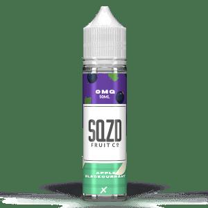 SQZD Fruit Co Apple Blackcurrant 50ml Shortfill E-Liquid