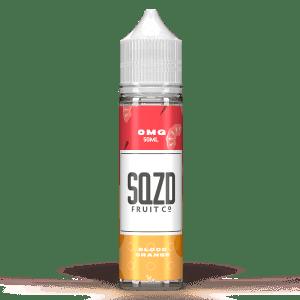 SQZD Fruit Co Blood Orange 50ml Shortfill E-Liquid
