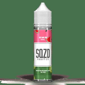 SQZD Fruit Co Watermelon Kiwi 50ml Shortfill E-Liquid