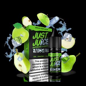 Just Juice Apple & Pear On Ice 10ml Nic Salt