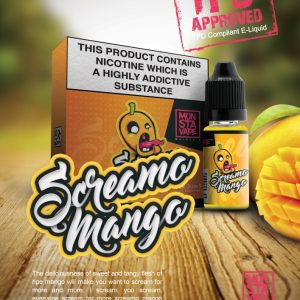 Monsta Vape Screamo Mango 10ml
