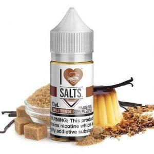 I Love Salts Sweet Tobacco 10ml Nic Salt E-Liquid