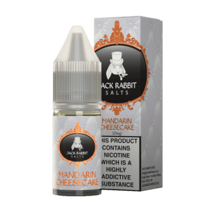 Jack Rabbit Mandarin Cheesecake 10ml Nic Salt